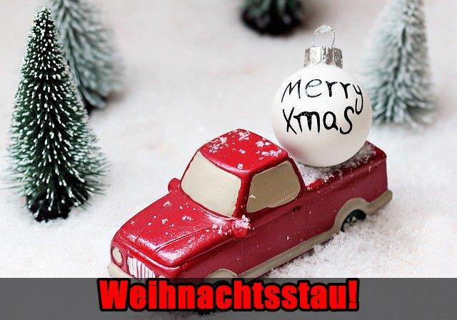 Weihnachtsstau